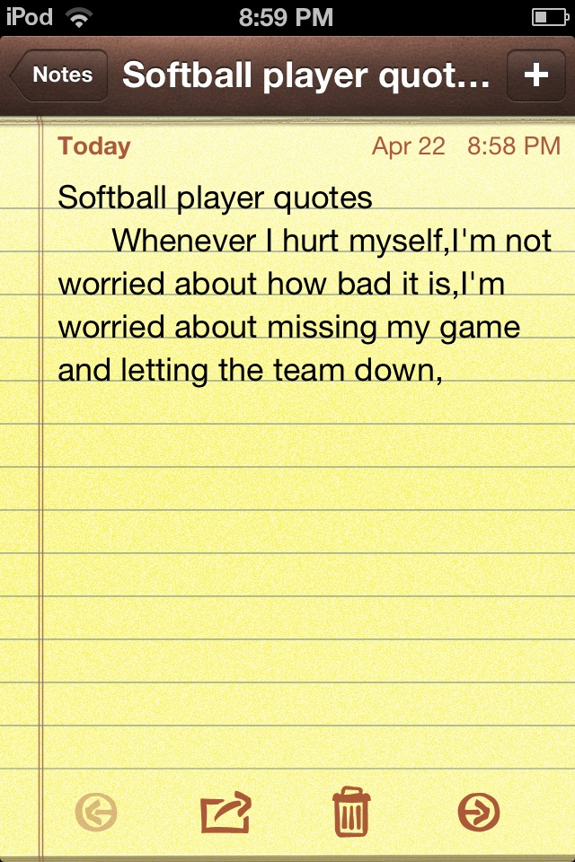 Softball quote made by me,Maddy!!! Follow my boards for more!!!