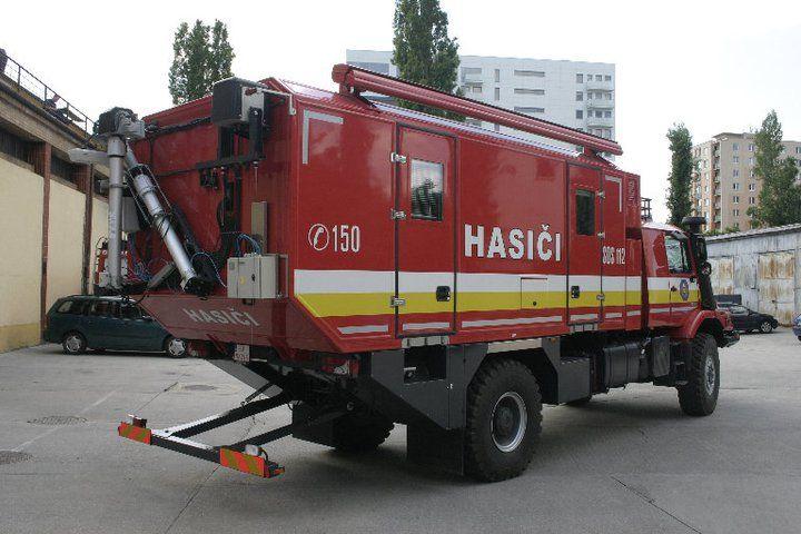 Protipožiarne.sk - Veliteľsko - štábne vozidlo MB Zetros