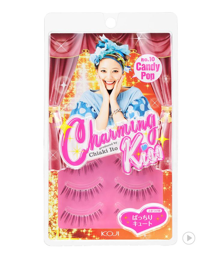 Charming Kiss Eyelash No.10 Candy pop 챠밍키스 아이래쉬 No.10 캔디 팝