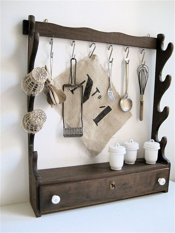 Repurposed Antique Rack How To Antique Wood Upcycled