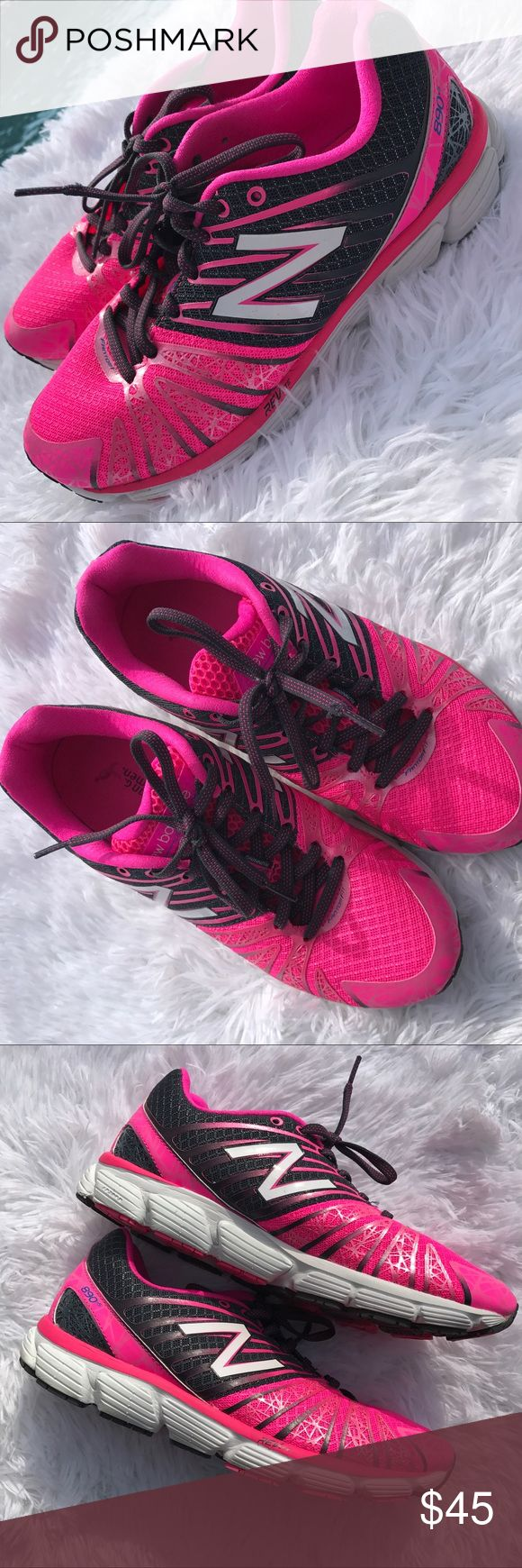 💕EUC💕 NEW BALANCE WIDE pink 890 Komen sneakers 💕EUC NEW BALANCE WIDE💕pink 890 Komen sneakers. Excellent condition. Only worn a few times.  So vibrant and great support!! New Balance Shoes Sneakers