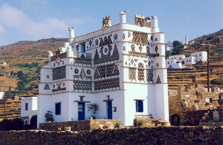In Tinos island there are about 1000 pigeon houses (#dovecotes), which are masterly constructed!!