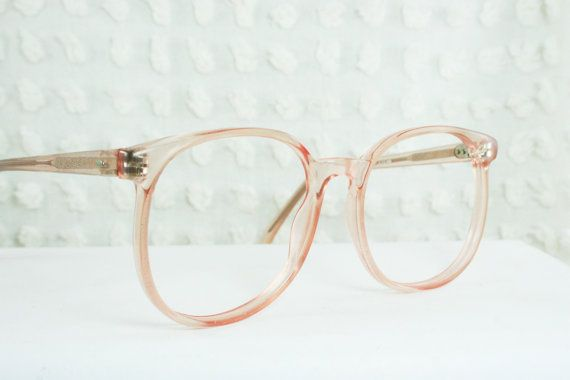 1980s Pink Eyeglasses from THAYEReyewear, $44.00. Featured here: http://etsy.me/Y5Q18f