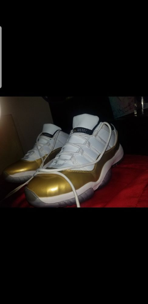 2b4da6f8b5f Air jordan 11 retro gold closing ceremony. #fashion #clothing #shoes  #accessories #mensshoes #athleticshoes (ebay link)