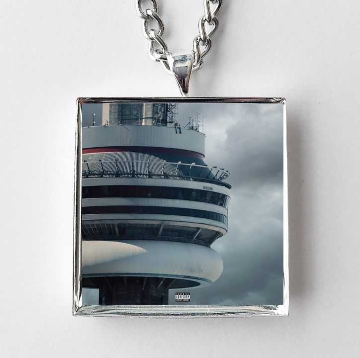 Drake - Views - Album Cover Art Pendant Necklace