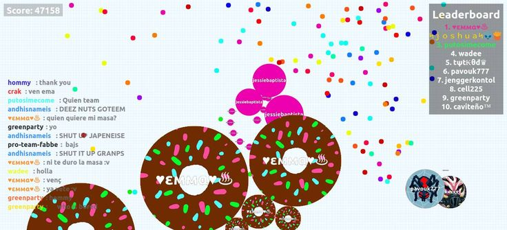 jessiebaptista agario private server 47158 mass score - Player: jessiebaptista / Score: 471580 - jessiebaptista saved mass Wow... I think, that our scores were sometimes bigger, than the world record agarioplay.com #agario