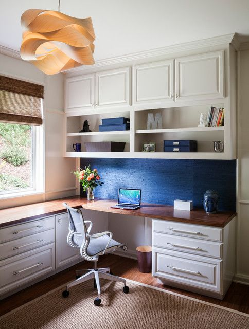 Eclectic Office eclectic-home-office