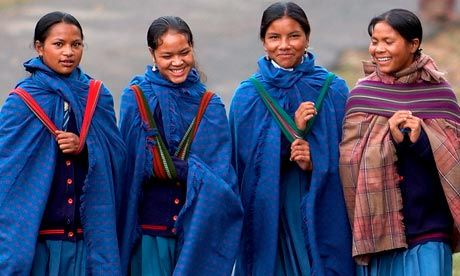 india girls khasi matrilineal- i remember seeing this on the bbc at some point but this is fab for a few reasons. a) proving that the patriarchy/sexism is NOT the only, natural way for things to be b) defying gender roles c) being a good way to help both males and females see how males would feel if they were treated like females currently are. i'm NOT interested in these societies as an ideal, even if, despite myself, I can't help feeling a little gleeful that something like this exists…