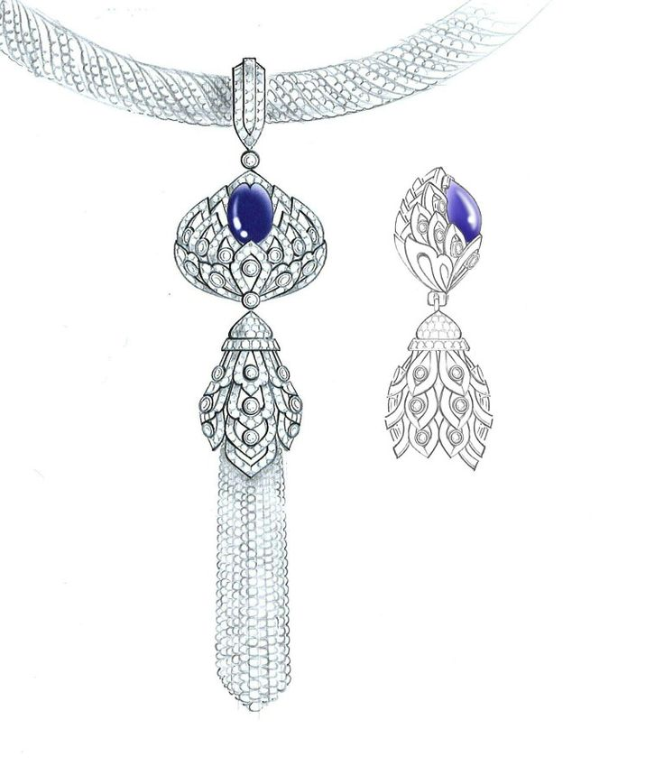 889 best jewelry sketch images on Pinterest | Drawings of ...