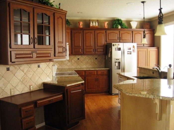 #Oak Espresso Kitchen #Cabinet Gel Stain Espresso Kitchen Cabinet.  Restaining ...