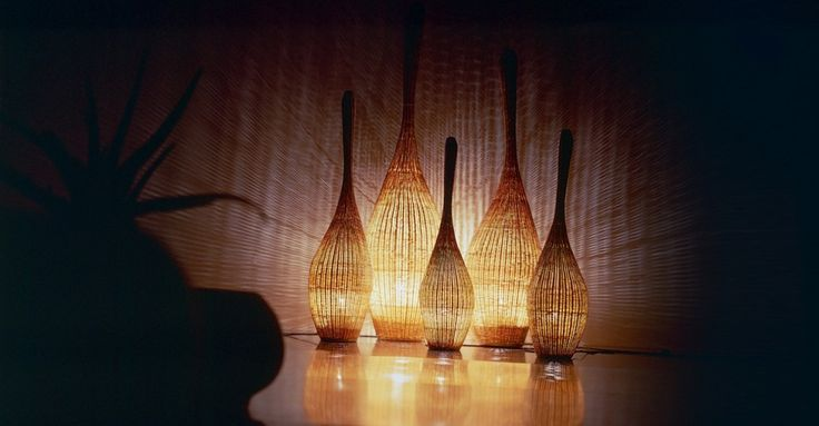 Bolla S/M/L/XL floor standing lamps by Gervasoni - Via Designresource.co