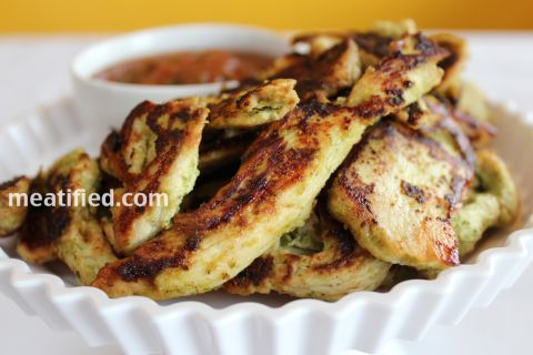 Green Fajita Chicken