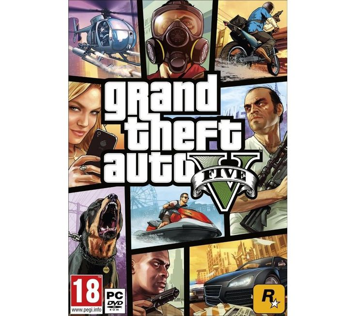 ROCKSTAR  Grand Theft Auto V - PC Price: £ 39.99 Immerse yourself in the open world action-adventure game that is Grand Theft Auto V PC download . Welcome to San Andreas Take to the streets of San Andreas with Grand Theft Auto 5 . Play as three different characters with interwoven stories: Franklin, a young street hustler; Michael, a retired bank robber; and Trevor, a terrifying psychopath....