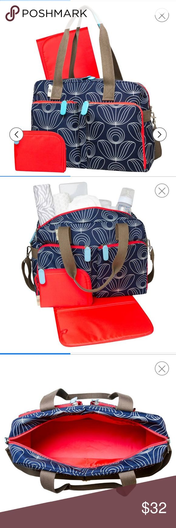 Diaper bag Beautiful diaper bag comes with changing pad and pouch adjustable shoulder strap material easily wipes clean Orla Keily Bags Baby Bags