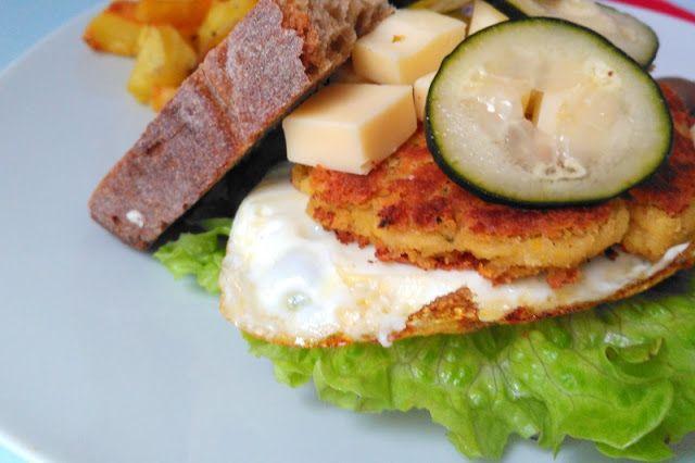 inspiracionistas: Hambúrgueres de milho e grão de bico