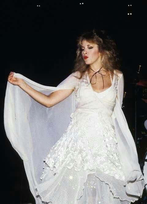 Stevie Nicks Goddess in white