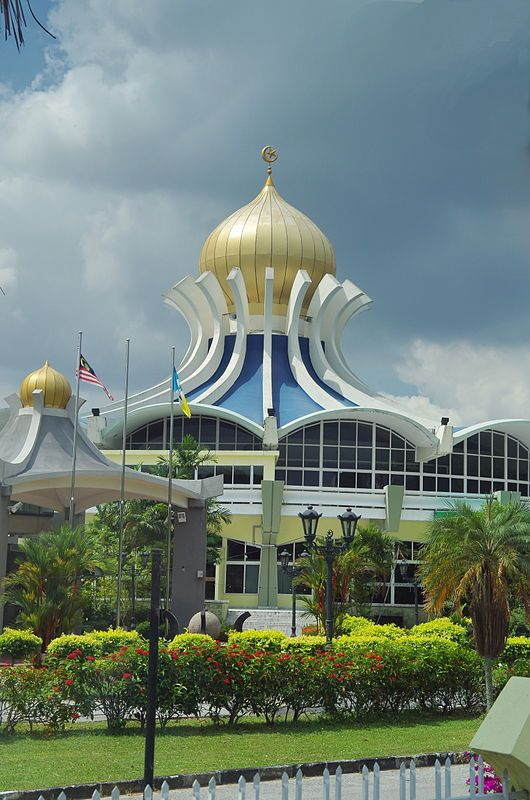 Penang State Mosque, George Town, Penang, Malaysia
