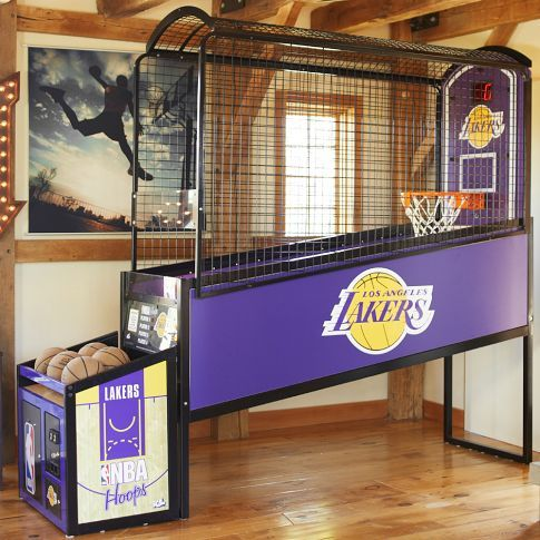 17 best images about gameroom ideas on pinterest arcade - Indoor basketball hoop for bedroom ...