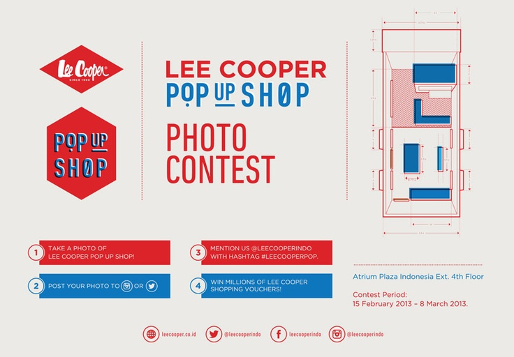 Lee Cooper Pop Up Shop and Photo Contest