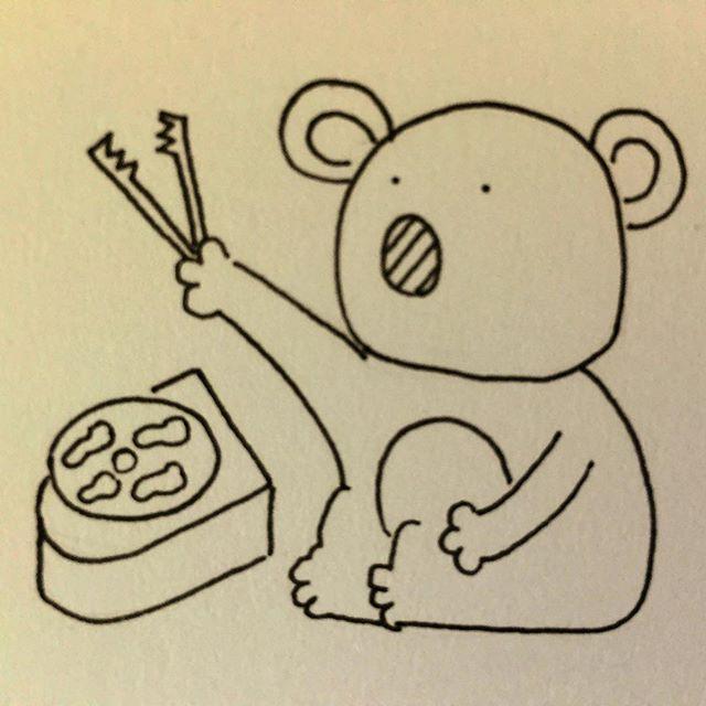 ばーびーのひ② #illustration #drawing #art #koala #illustagram #コアラ #ミリペン #ペン画 #pen #イラスト #アナログ #オリジナル #焼き肉 #treebear #artistsmuseum #バーベキュー #animal #BBQ #バービーの日  #barbie #ゆるキャラ #肉 #meat #🍖 #オーストラリア #australia #オージービーフ #beef #やきまる #og