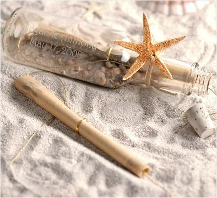 Message in a bottle wedding invitations for a beach wedding or destination wedding $3.69