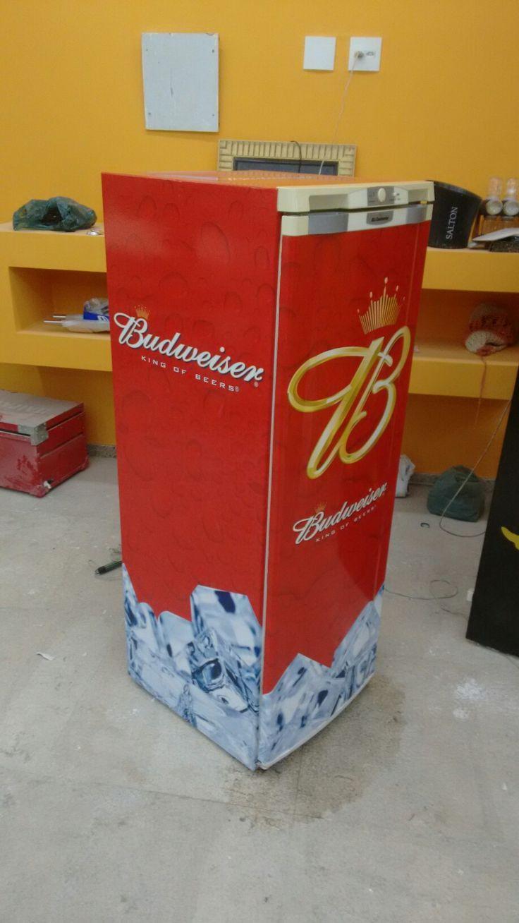 Geladeira Budweiser