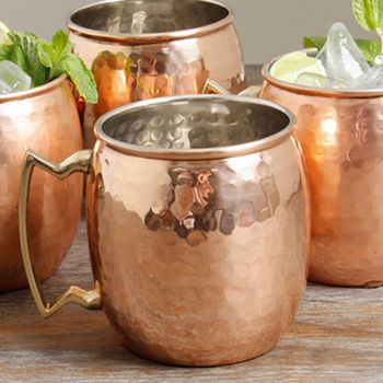 Bulk Apothecary carries everything you need for your handmade creations including beautiful Hammered Copper moscow mule mugs at Wholesale Prices!