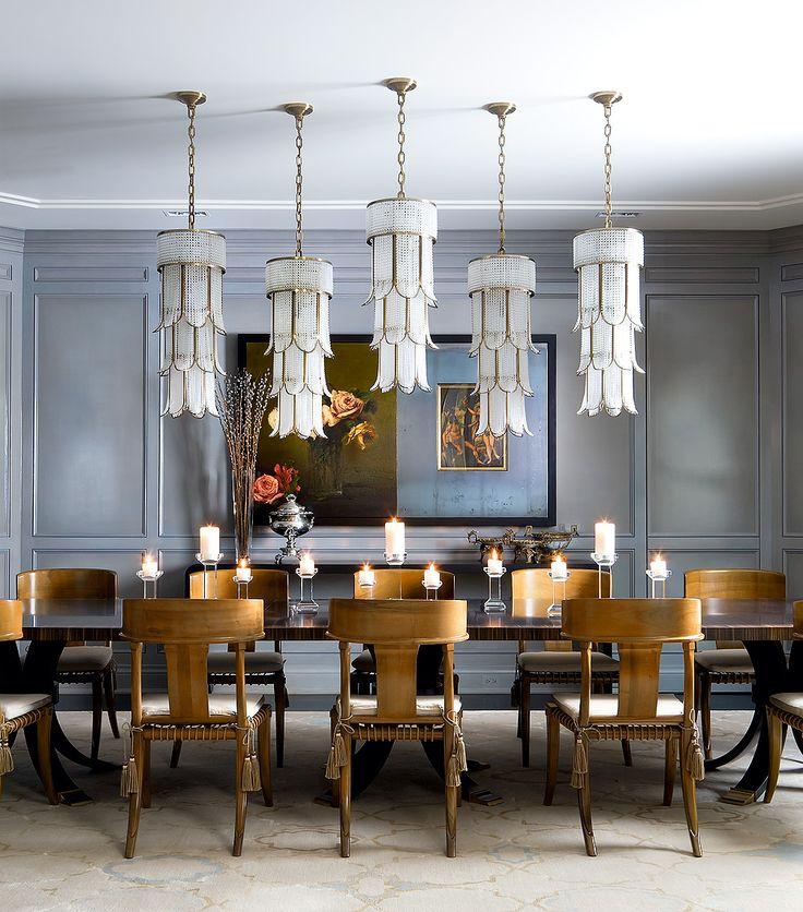 Multiple Pendant Lights Dining Room