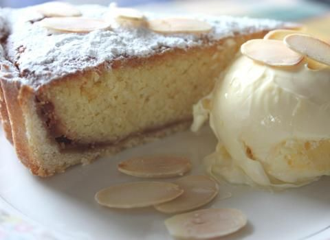 Spanish Torta de Santiago (Cake of Saint James) Find this and other recipes at  recipe at http://www.allaboutcuisines.com/festive-recipes/baking-and-cake-decorating #Baking Recipes #Spanish Recipes