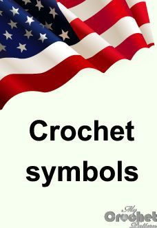Simple guide to different crochet symbols, charts, diagrams, abbreviations and how to read them. American crocheting abbreviations and it's differences