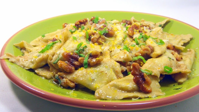 Inspired By eRecipeCards: Brown Butter, Sage and Walnut Pasta Sauce ...