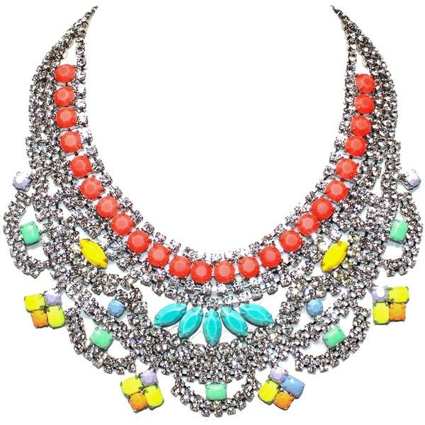 TOM BINNS 'Soft Power' bib necklace found on Polyvore