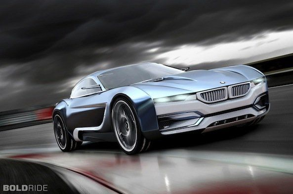 "BMW M3i/320 Concept: The ""i"" Line gets a Supercar Makeover"