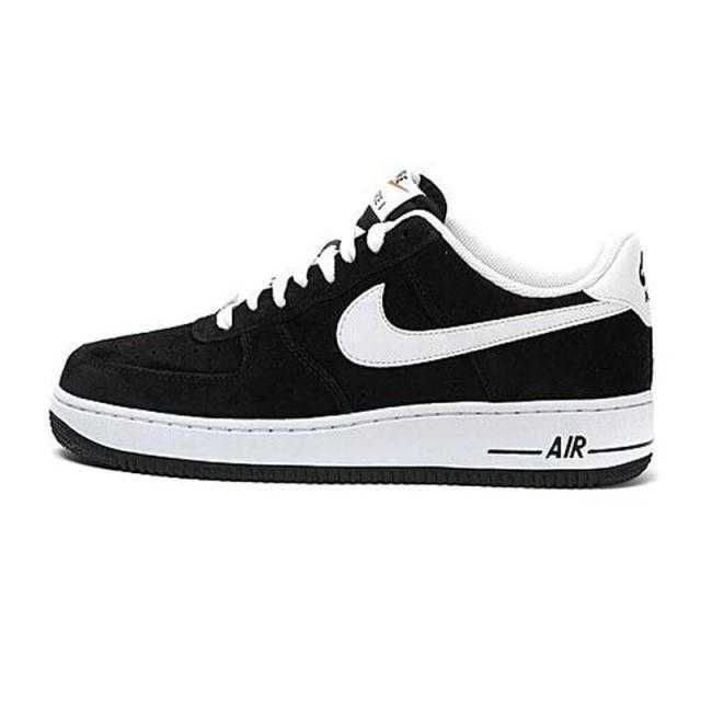 outlet store 0e9d9 b72d0 1830   Nike Air Force One Low Herr Svart Vit SE516876QbJEEgupu