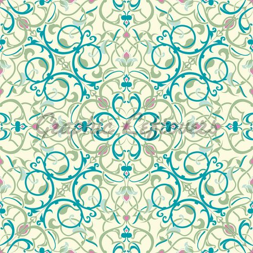 Beautiful Middle Eastern Seamless Tile Natural ...