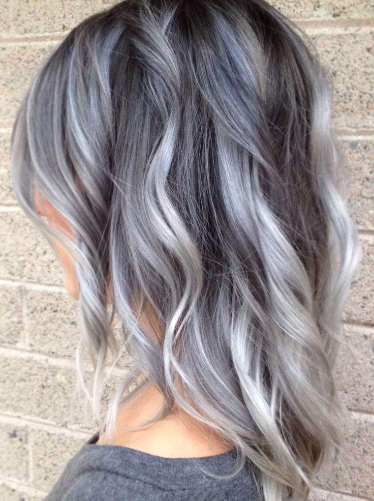 Ooh interesting. What if I did this my hair. Since most of my new growth is silver, why not work it into a cool new hair style? Grey ombre pastel hair