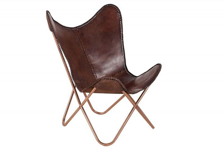 Fotel Sessel Butterfly brązowy | Fotele \ Fotele wypoczynkowe | designer.ski