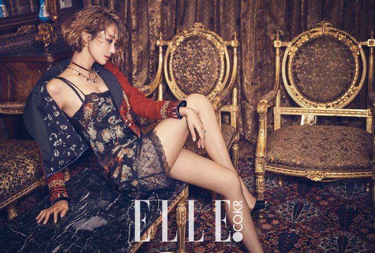 Go Joon Hee - Elle Magazine September Issue '16
