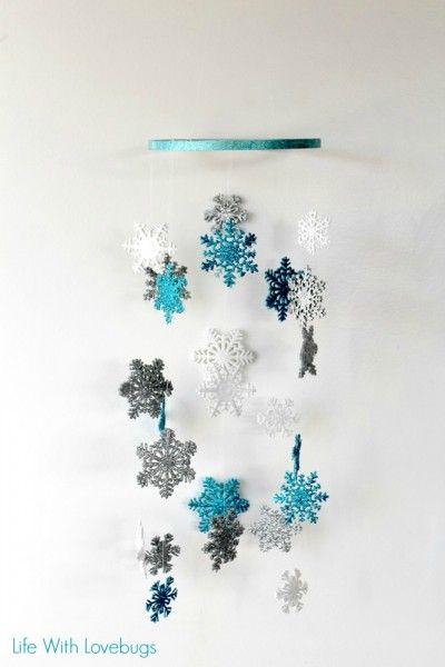 Sizzix Tutorial | Snowflake Chandelier by @LifeWithLovebug