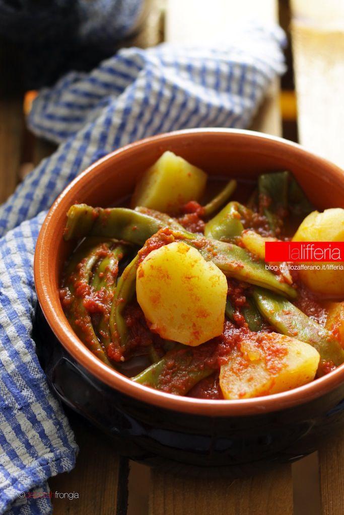 Taccole e patate in umido - Ricetta facile