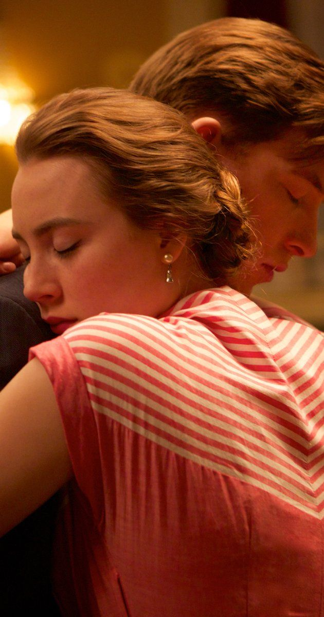 """""""Brooklyn""""  Directed by John Crowley.  With Saoirse Ronan, Domhnall Gleeson, Michael Zegen, Emory Cohen. In 1950s Ireland and New York, young Ellis Lacey has to choose between two men and two countries."""