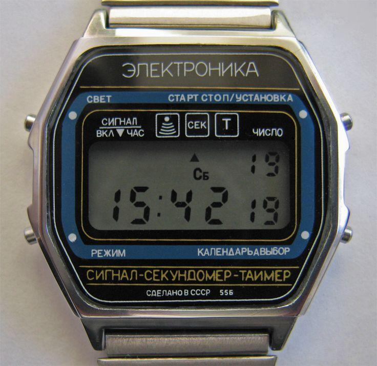 Электронные часы советские продам продать часы cartier