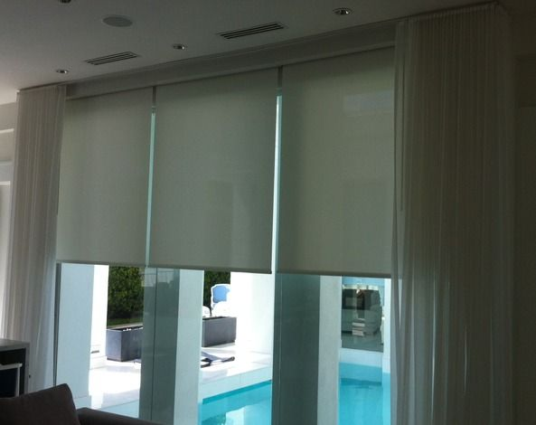 QMotion Automated Shades - Advanced Shading Systems Gallery
