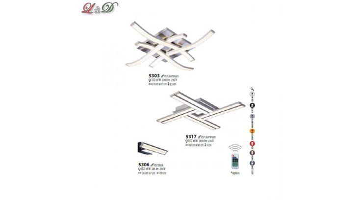 LARGO mennyezeti lámpa 5303 alumínium Design Led Lámpák GM Led Line lámpa