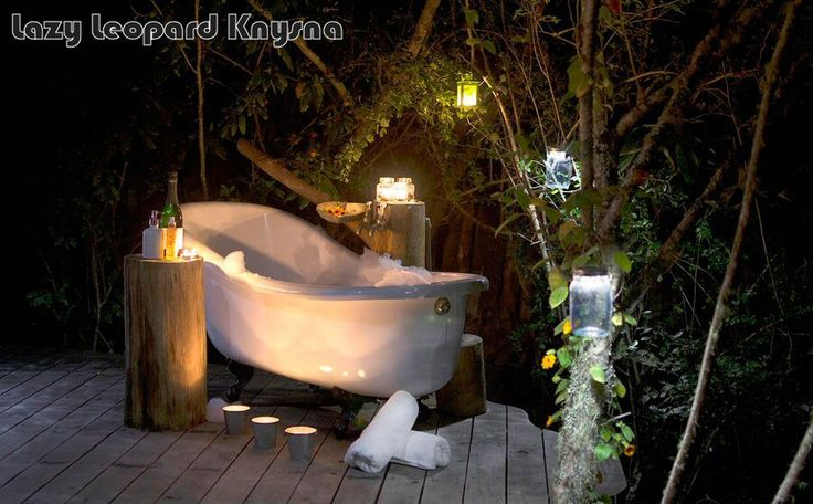 Self catering in Knysna forest - so pretty!