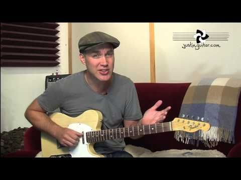 How to Tune Your Guitar To Open G Tuning (Guitar Lesson ES-031) - YouTube