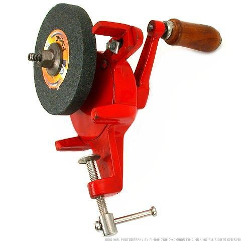 Hand Operated Bench Grinder Tools Pinterest Bench