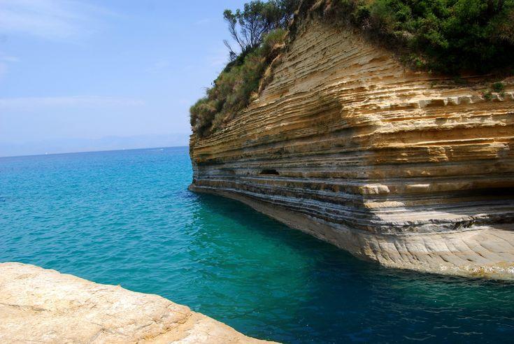 Canal Damour #Corfu