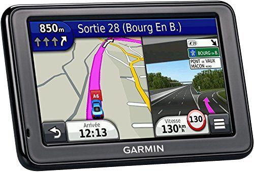 Garmin nüvi 2595LMT Reconditionnés – GPS Auto 5 Pouces – Appel Mains Libres et Commande Vocale – Info Trafic et Carte (45 Pays) Gratuits à…