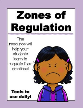 This packet includes everything you might need to teach and pracice the zones of regulation in your classroom. It includes: -Zones of regulation posters -Zones of regulation booklet -3 different types of zones of regulation sorts -A strategy toolbox for